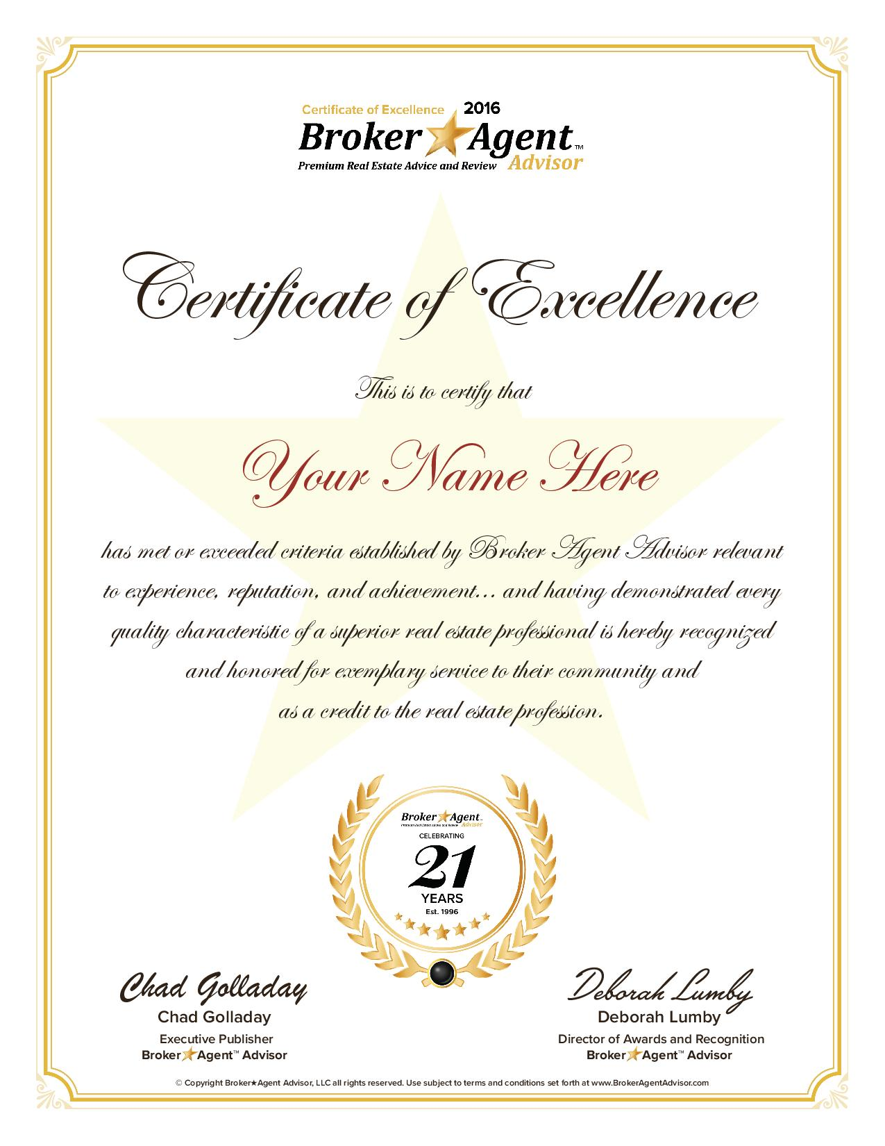 Real estate awards brokeragent advisor available to industry veterans and rookies alike 1betcityfo Image collections